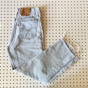 Vintage Levi's 501 Made in USA High Rise Mom Jeans